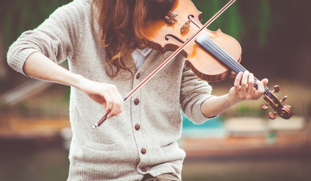 Before storing your violin, make sure to wipe it down to remove excess rosin.